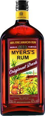 Dark Rum Brands | Description for Myers's Original Dark Rum