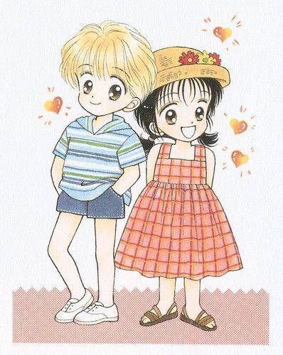 Yuu y Miki, Marmalade Boy. Wataru Yoshizumi.