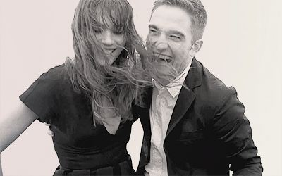 And that giggle! | Behind The Scenes Photos Of Robert Pattinson's Dior Commercial Are Here And Are Perfect