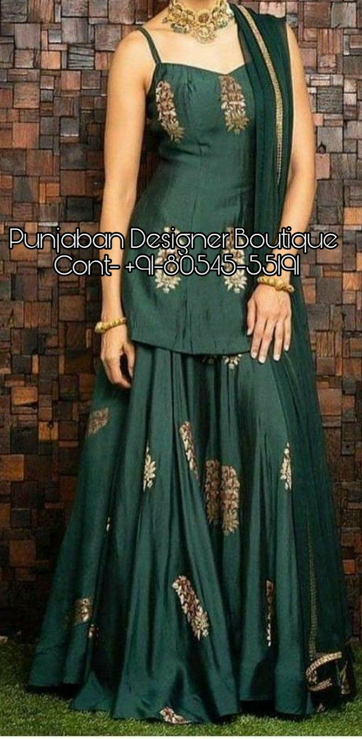 Plazo Suits Images With Price Punjaban Designer Boutique Sharara Designs Kurti Designs Party Wear Dress Indian Style,Baby Boy Designer Clothes Sale