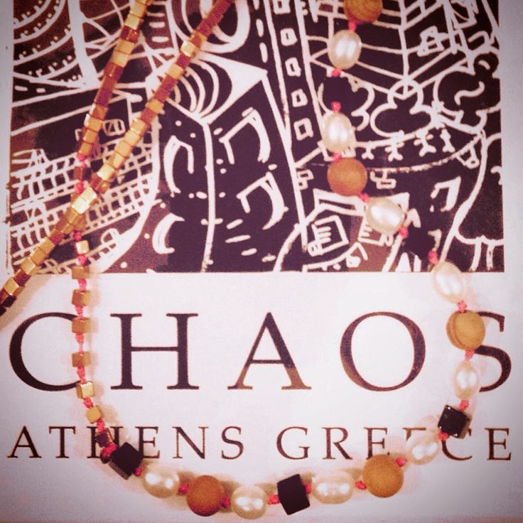 In the city where i live, Athens, Greece, chaos is an everyday situation. Creating makes it all more organized and fun. I love to design little gems to make life more interesting and hopefully make other people's lives who wear my jewels, more exciting!