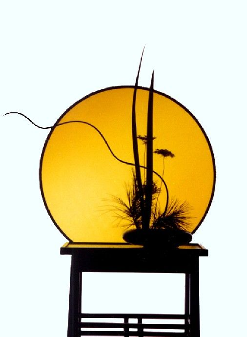 Rules of Ikebana | Basic rules of construction of ikebana with artificial branches