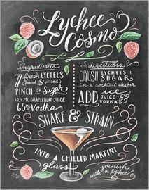 Lily & Val - Litschi-Cosmo Rezept