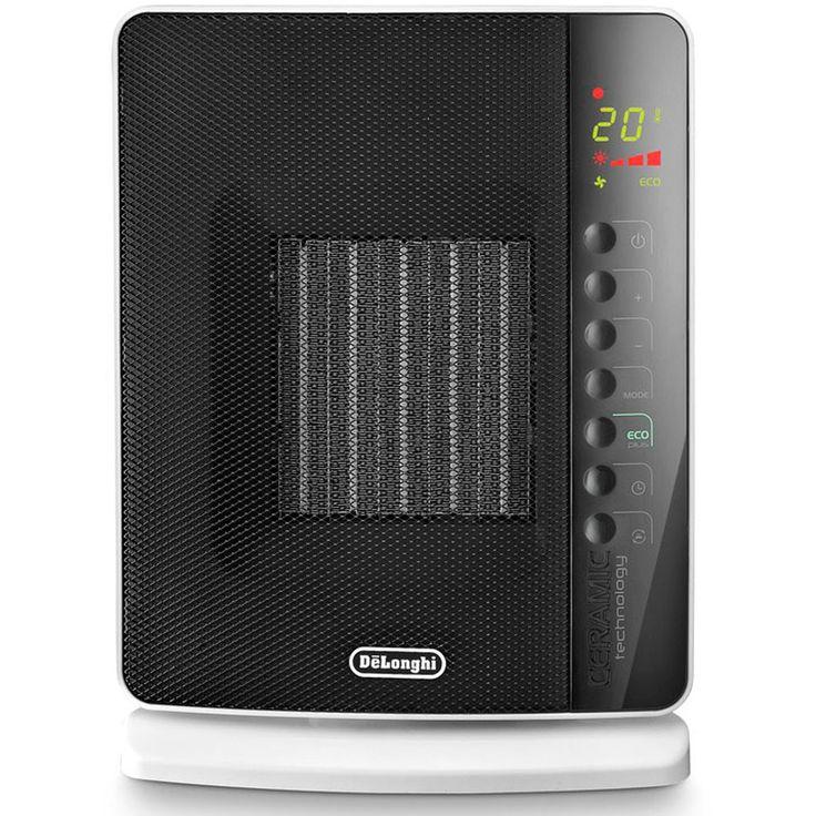 1,500 Watt Portable Electric Fan Panel Heater with Remote