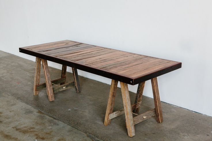 'Dining' Trestle Table – timbermillrentals