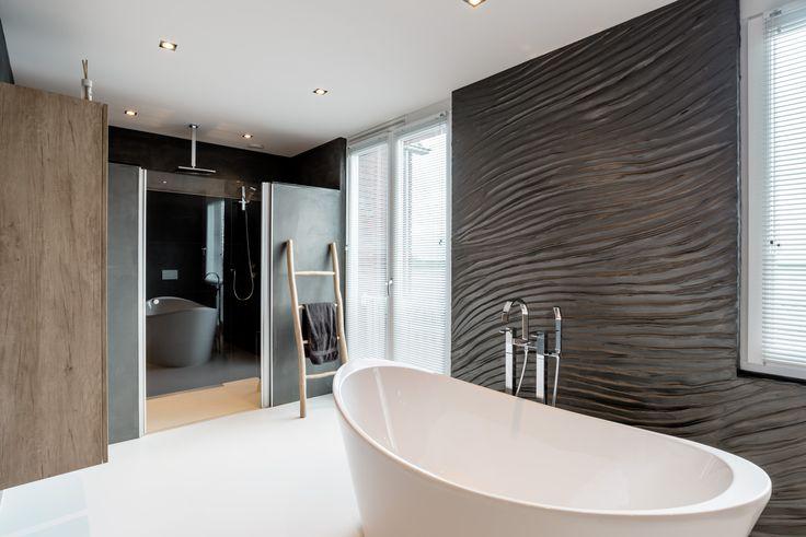 Project met speciaal stucwerk in de badkamer | CMI
