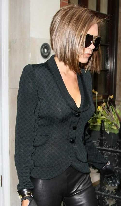 15 Victoria Beckham Bob Cuts | Bob Hairstyles 2015 - Short Hairstyles for Women by alexandria
