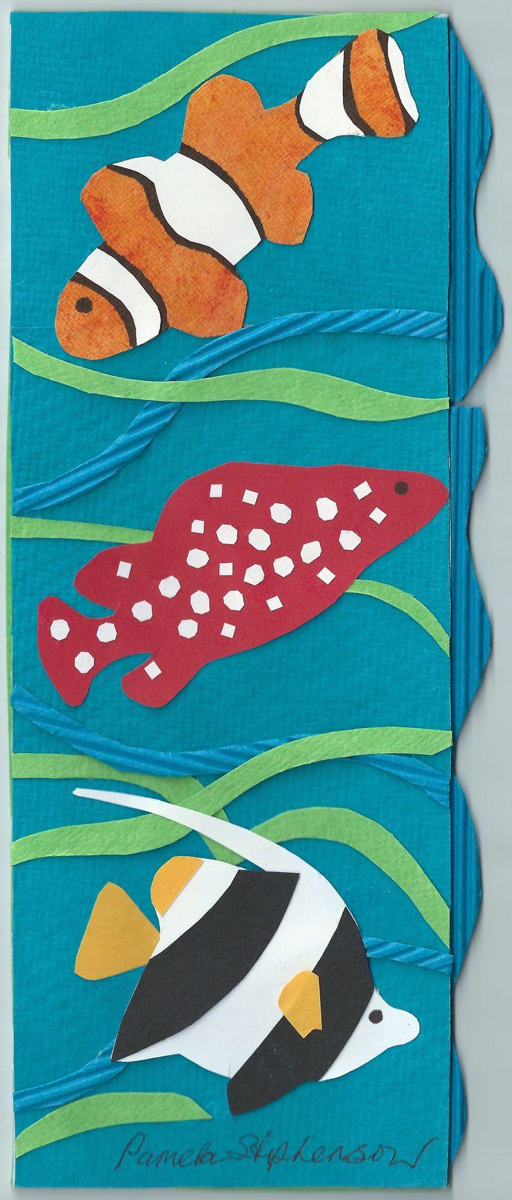 Pamela Stephenson Original. Collage on Card.