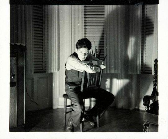 Frank Sinatra photographed by Nancy in his home 841 Garden street Hoboken NJ