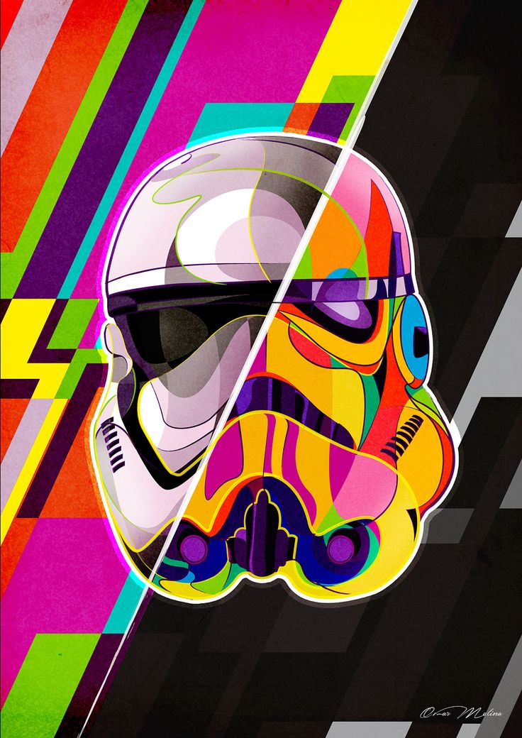 Storm Trooper. The force awakens on Behance