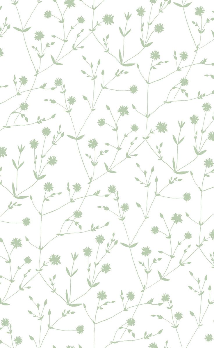 Illalla Wallpaper Cream/Mint Green