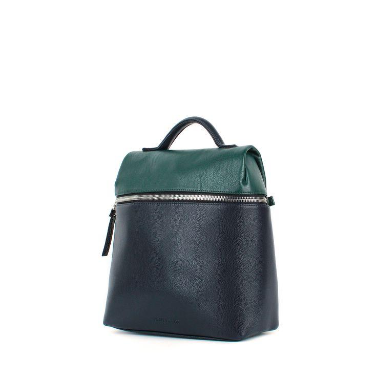 Рюкзак женский городской сине-зеленый Levin S ARNY PRAHT