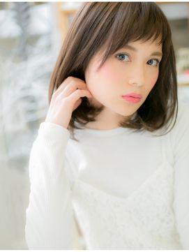 モッズ ヘア 越谷店(mod's hair)ベビーバング+王道ナチュラルボブa