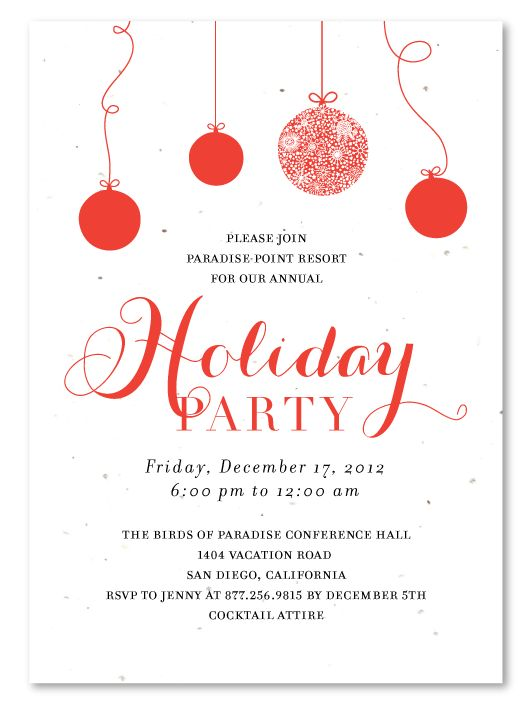 22 best christmas invitations images on pinterest | christmas, Party invitations