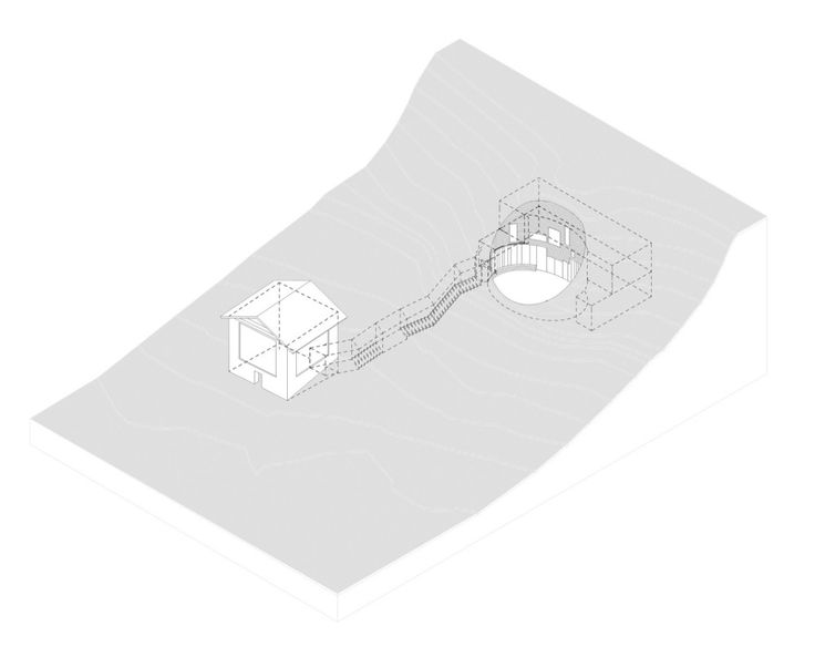 Villa Vals / SeArch & Christian Muller - axo
