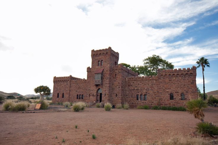 Duwisib Castle, Namibia Sadly, unlike most fairytales, the Von Wolfs' desert-edge idyll had an unhappy ending. In 1914, just 5years after the castle was completed, they were travelling to England to buy fresh bloodstock for their stud when WWI broke out. Two years later, September 916, he died at the battle of the Somme in France.