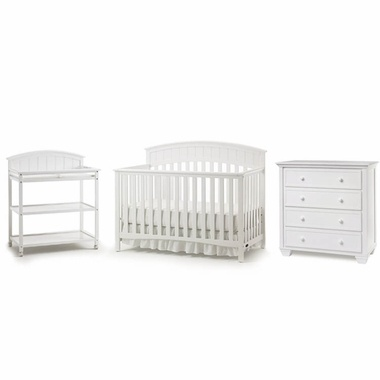 Graco Cribs 3 Piece Nursery Set Charleston Convertible Crib Changing Table And Portland