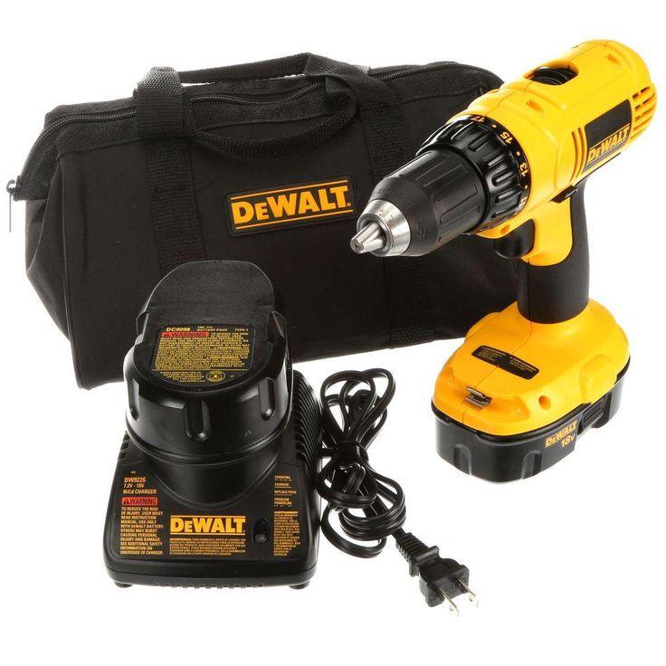I need a new drill - DEWALT 18-Volt Ni-Cad 1/2 in. Compact Drill/Driver Kit
