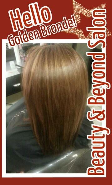 Golden brown blonde