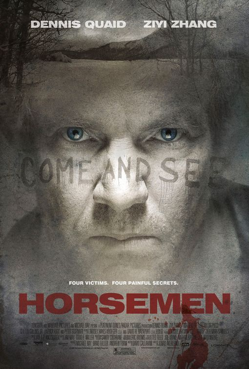 The Horsemen Movie Poster #3 - Internet Movie Poster Awards Gallery