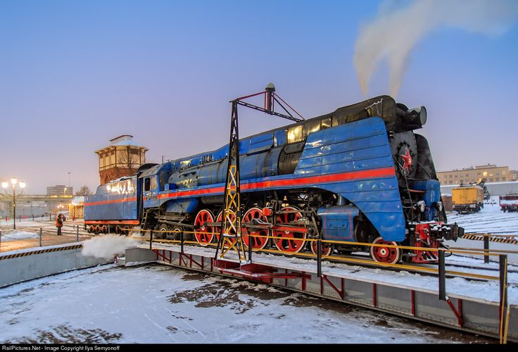 RailPictures.Net Photo: Russian Railways Steam 4-8-4 at Moscow, Russia by Ilya Semyonoff
