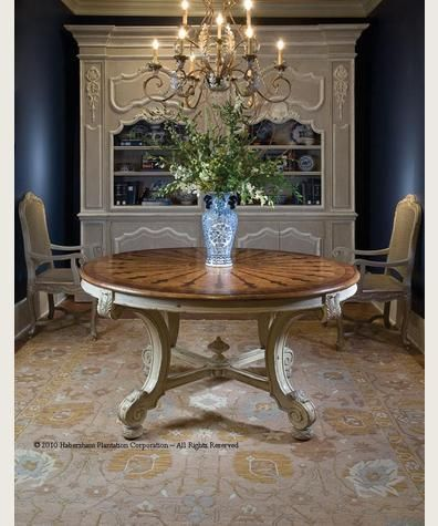 Shop For Habersham Plantation Corporation Dining Tables And Other Room At Luxe Home Interiors Tulsa In Oklahoma