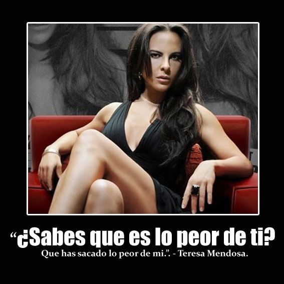"""Teresa Mendoza """"La Reina del sur"""""""