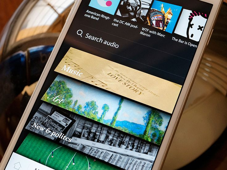 Subscribed radio application - channel