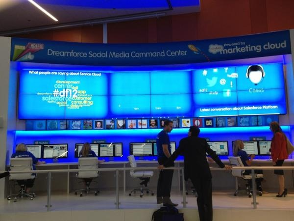 Does your social media command centre look like this? #OTT