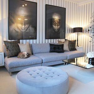 ♥ vårt vardagsrum ♥ - Hemma hos Sindahl på StyleRoom.se