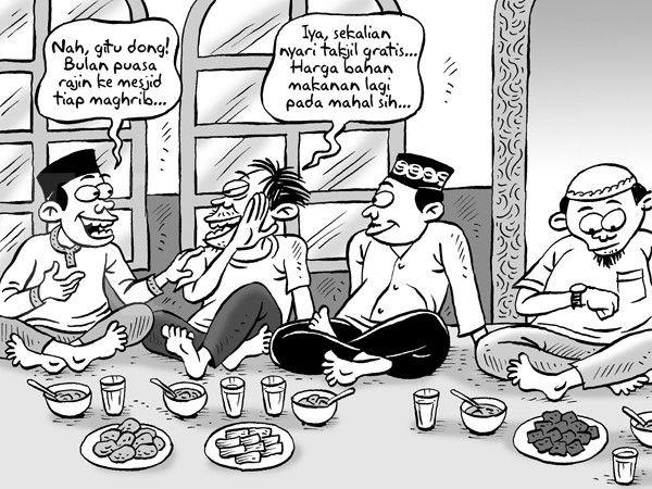 Kartun Benny, Kontan - Juni 2015: Akibat Harga-harga Naik