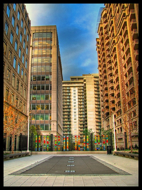 Liberty Center at Ballston, Arlington, Virginia, USA ...