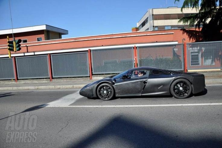 Ferrari Nuova Enzo Spy
