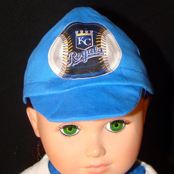 Baseball Caps for American Girl or Boy Size Dolls Softball Hat, Kc Royals, Ny Yankees, Sf Giants, La Dodgers, Toronto Blue Jays or any other by GreenGranny2014 on Etsy