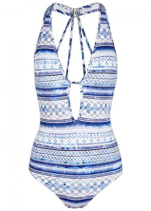 JETS BY JESSIKA ALLEN JETS BY JESSIKA ALLEN PROVENCE PRINTED SWIMSUIT. #jetsbyjessikaallen #cloth #