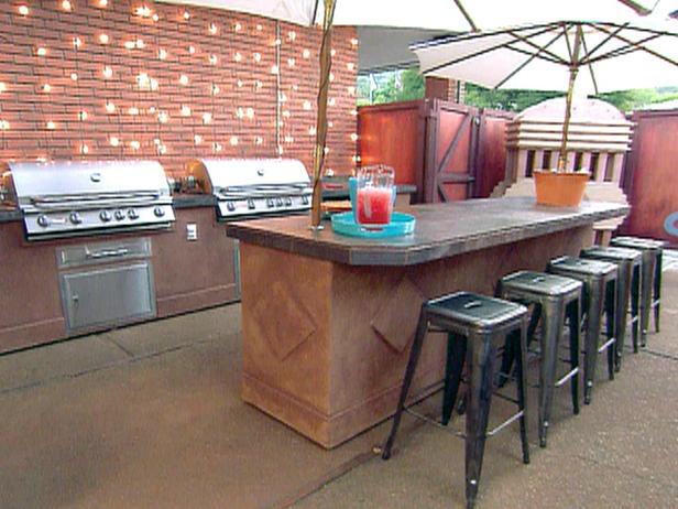 A Patio Rescue : Archive : Home U0026 Garden Television  Outside Kitchen!