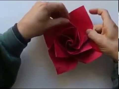 Cara Membuat Bunga Mawar Kertas Origami https://www.youtube.com/watch?v=Zuughol91Iw