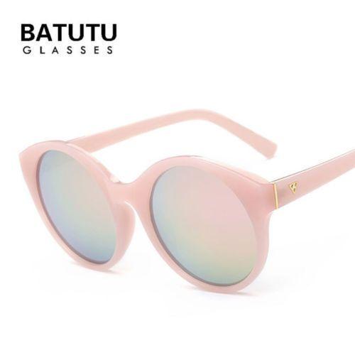 Round sunglasses ladies retro designer UV400 HD sunglasses glasses #unbranded #Round