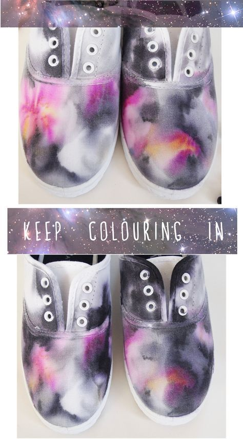 Hey tea birds!     I hope all your Saturdays have been beautiful! Here is my second tutorial of the day! Galaxy print shoes! Simila...