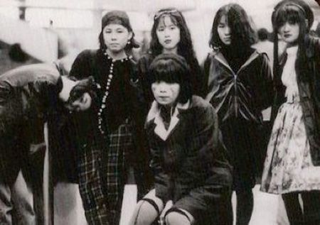 90s. Japan. Girlgang