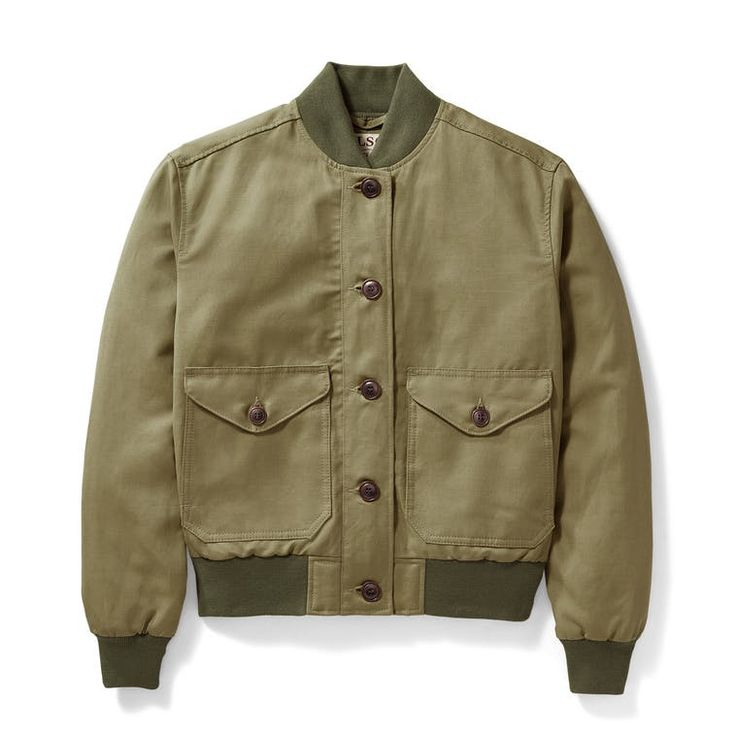 Women's Libby Bomber Jacket by Filson, Made in USA of imported parts