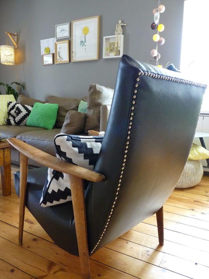 Les 25 meilleures id es de la cat gorie recouvrir un fauteuil sur pinterest comment r nover un - Comment nettoyer le tissu d un fauteuil ...