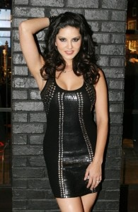 Sunny-Leone-Black-Dress-Photoshoot
