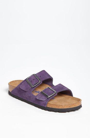 Birkenstock 'Arizona' Soft Footbed Suede Sandal (Women) available at #Nordstrom