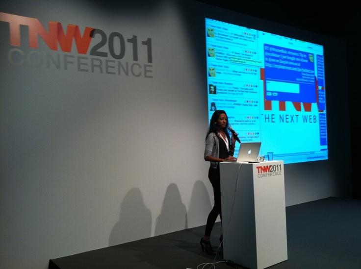 Presentatie tijdens TNW 2011.