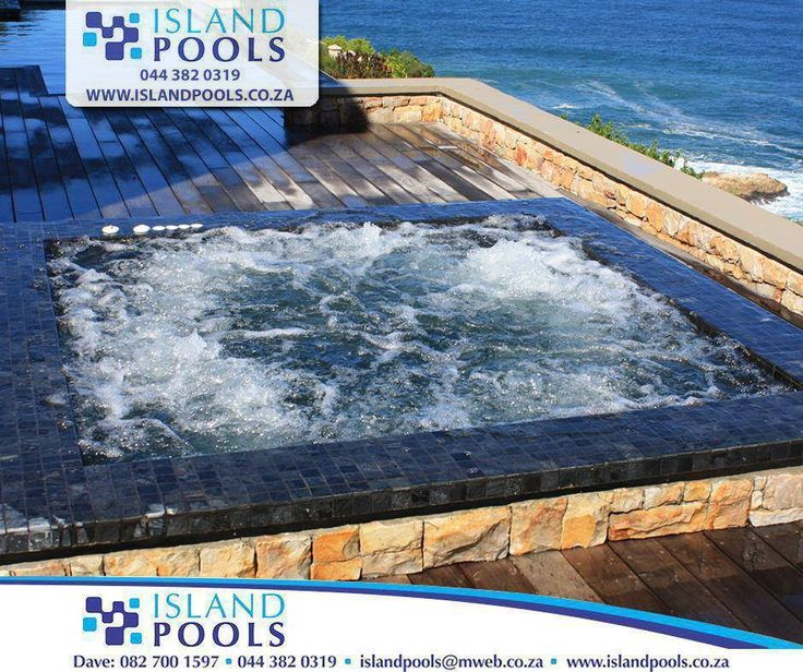 At #IslandPools, we offer customised spas and vitality pools, designed to suit your requirements, in any surface finish of your choice. Call us on 044 382 0319 for more info. #Spas