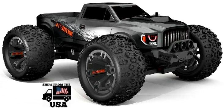 Team Redcat TR-MT10E 1/10 Remote Control Monster Truck Electric Brushless Motor…