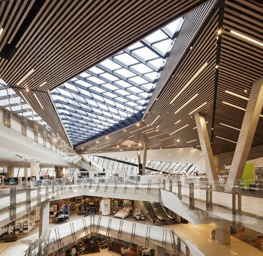 Myer Department Store at the Bourke Street Mall in Melbourne, Australia by NH Architecture