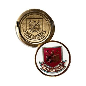 Premier League Golf West Ham Golf Hat Clip With Ball Marker Show your support for West Ham FC with this stylish hat clipA Stylish magnetic hat clip with dual club logo branding meaning that whether you have got your marker on the golf green or on your clip you http://www.MightGet.com/january-2017-11/premier-league-golf-west-ham-golf-hat-clip-with-ball-marker.asp