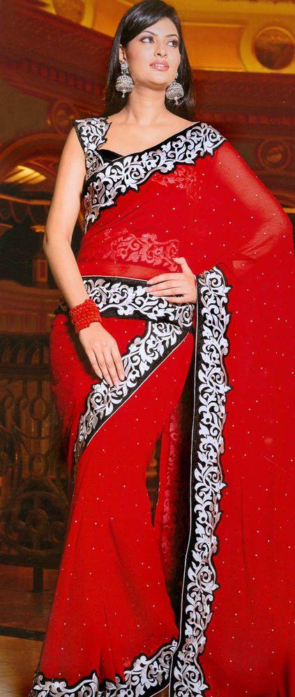 Utsav Fashion- Designer Indian Bollywood Partywear Ethnic Saree Sari - SGA1628